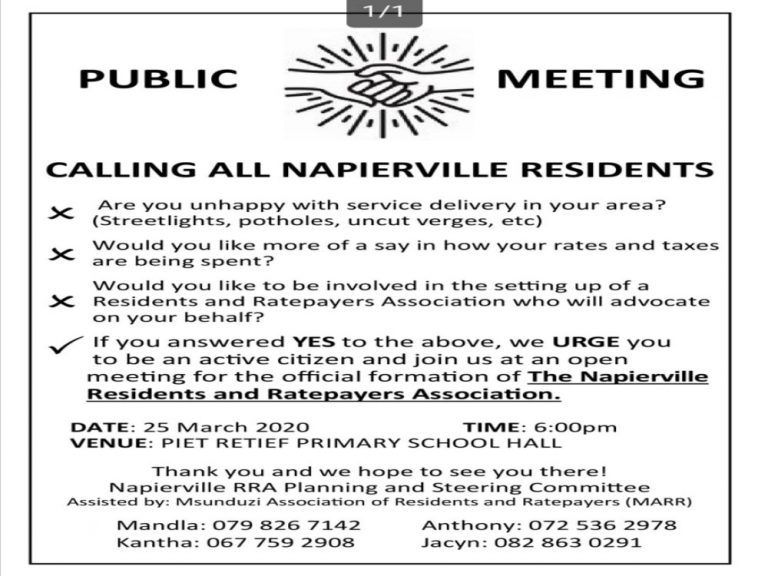 resize Napierville flyer